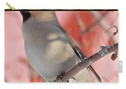 Bohemian Waxwing Carry-all Pouch