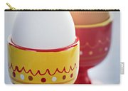 Boiled Eggs In Cups Carry-all Pouch by Elena Elisseeva