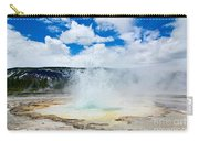 Boiling Point - Geyser Eruption In Yellowstone National Park Carry-all Pouch