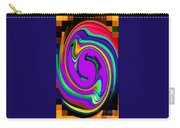 Bold And Colorful Phone Case Artwork Designs By Carole Spandau Cbs Art Exclusives 105 Carry-all Pouch