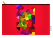 Bold And Colorful Phone Case Artwork Designs By Carole Spandau Cbs Art Exclusives 107  Carry-all Pouch