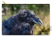 Bold And Demanding Raven Carry-all Pouch