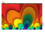 Bold Colors Fractal Carry-all Pouch