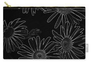 Bold Daisies Carry-all Pouch