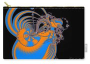Bold Energy Abstract Digital Art Prints Carry-all Pouch