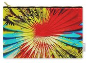 Bold Floral Hat Abstract Carry-all Pouch