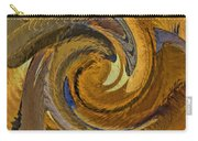 Bold Golden Abstract Carry-all Pouch