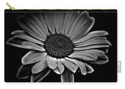 Bold Monochrome Daisy Carry-all Pouch
