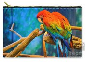 Bold Parrot Carry-all Pouch