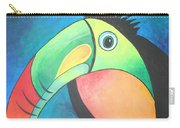 Bold Toucan Carry-all Pouch