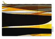 Bold- Yellow Orange Black And Gray Art Carry-all Pouch