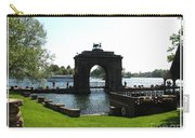 Boldt Castle Entry Arch Carry-all Pouch by Rose Santuci-Sofranko