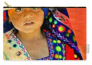 Bolivian Child Carry-all Pouch