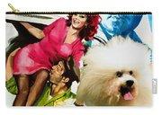 Bolognese Dog Art - Matrimonio All Italiana Movie Poster Carry-all Pouch