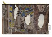 Bombed Out Interior Of Albert Church Carry-all Pouch by Ernest Proctor