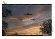 Bombers Pass By  Carry-all Pouch