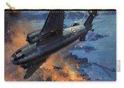 Bombing Scene Artist C E Turner  Carry-all Pouch