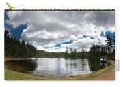 Bon Echo Lagoon Panorama Carry-all Pouch by Cale Best