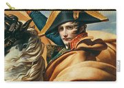 Bonaparte Crossing The Alps Oil On Canvas Detail Of 18491 Carry-all Pouch