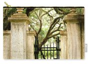 Bonaventure Cemetery Gate Savannah Ga Carry-all Pouch