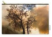 Bonfire And Olive Tree Carry-all Pouch