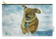 Bongo In The Snow Carry-all Pouch
