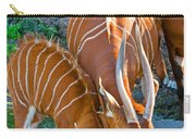 Bongo Mother And Calf Carry-all Pouch