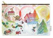 Bonnefemme De Neige / Snow Woman Carry-all Pouch