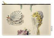Bonnets For An Occasion, Fashion Plate Carry-all Pouch