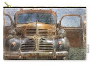 Bonnie And Clyde Carry-all Pouch by Debra and Dave Vanderlaan