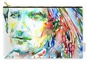Bono Watercolor Portrait.2 Carry-all Pouch