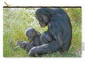 Bonobo Mother And Baby Carry-all Pouch