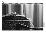 Book Heart 3 Carry-all Pouch