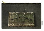 Book With Glasses Carry-all Pouch