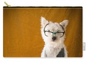 Bookish Dog Carry-all Pouch by Edward Fielding