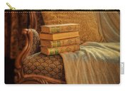 Books On Victorian Sofa Carry-all Pouch