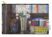 Bookworm Bookshelf Still Life Carry-all Pouch