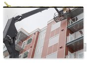 Boom Lift Worker Work Apartment Highrise Exterior Carry-all Pouch