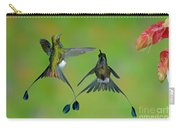Booted Racket-tail Hummingbird Males Carry-all Pouch