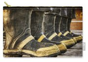 Boots On The Ground Carry-all Pouch by Joan Carroll
