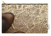 Boots On Wood Carry-all Pouch