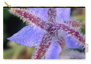 Borage Droplets Carry-all Pouch