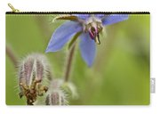 Borage Wildflower - Borage Officinalis - Annual Herb Carry-all Pouch