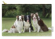 Border Collie Dogs Carry-all Pouch