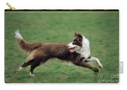 Border Collie Running Carry-all Pouch