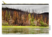 Boreal Forest At Yukon River Destroyed By Fire Carry-all Pouch