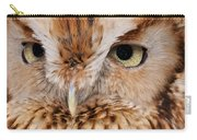 Boreal Owl Eyes  Carry-all Pouch