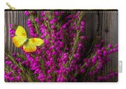 Boronia With Yellow Butterfly Carry-all Pouch