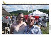 Borsos Anna Ruzsan With Sir Stirling Moss 2012 Carry-all Pouch