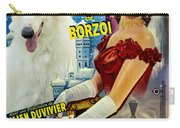 Borzoi Art - Anna Karenine Movie Poster Carry-all Pouch